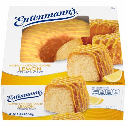 Entenmann's® Lemon Crunch Cake Perspective: front