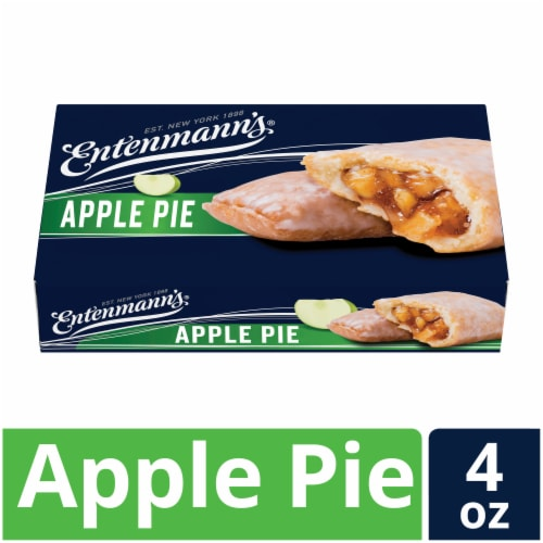 Entenmann's Apple Pie Snack Pie Perspective: front