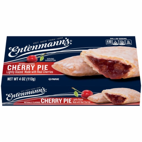 Entenmann's Cherry Snack Pie Perspective: front