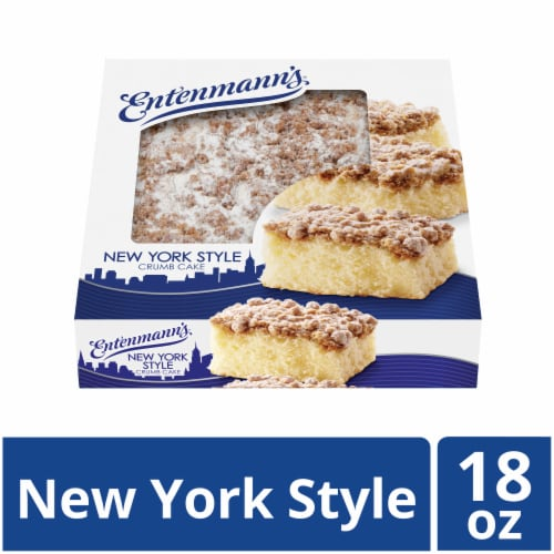 Entenmann's New York Style Crumb Cake Perspective: front