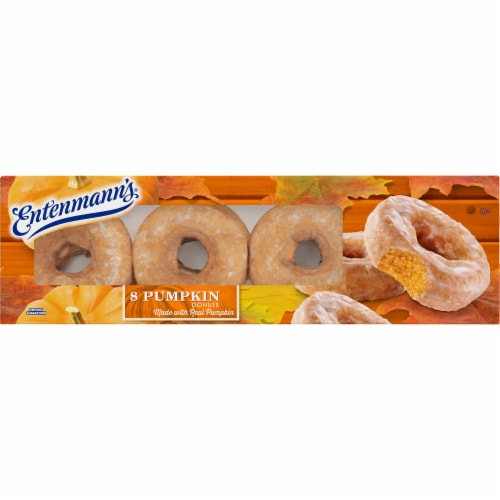 Entenmann's® Pumpkin Donuts Perspective: front