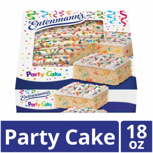 Entenmann's Iced Party Cake Perspective: front
