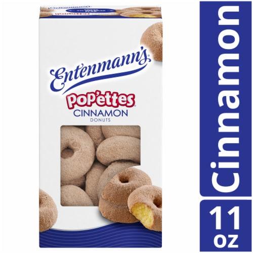 Entenmann's Pop'ettes Cinnamon Donuts Perspective: front
