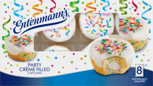 Entenmann's® Party Creme Filled Cupcakes Perspective: front