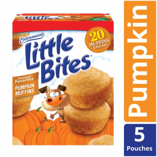 Entenmann's® Little Bites® Seasonal Favorites Pumpkin Muffins Perspective: front