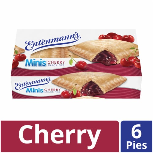 Entenmann's Mini Cherry Snack Pies Perspective: front