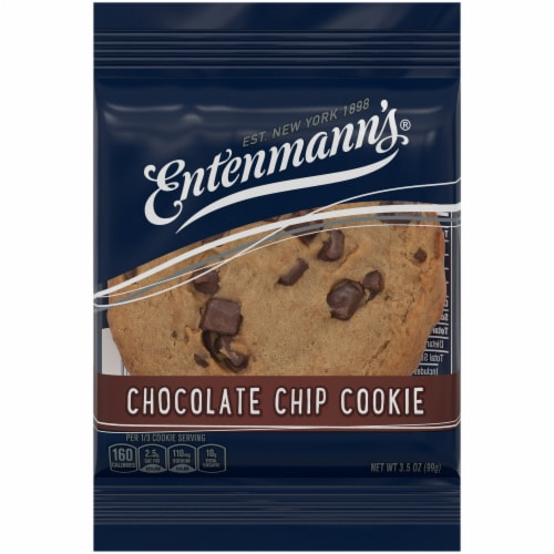 Entenmann's Chocolate Chip Cookie Perspective: front