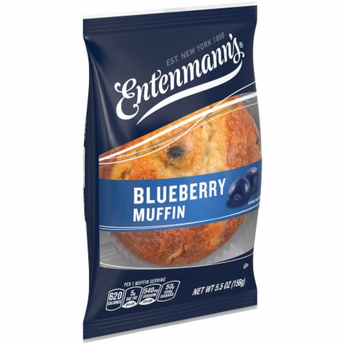 Entenmann's Blueberry Muffin Perspective: front