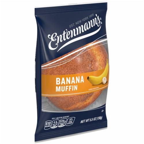 Entenmann's Banana Muffin Perspective: front