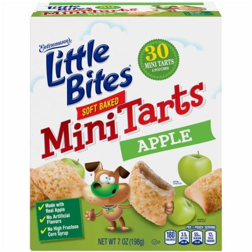Entenmann's Little Bites Apple Soft Baked Mini Tarts Perspective: front