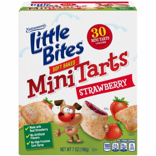 Entenmann's® Little Bites® Strawberry Soft Baked Mini Tarts Perspective: front