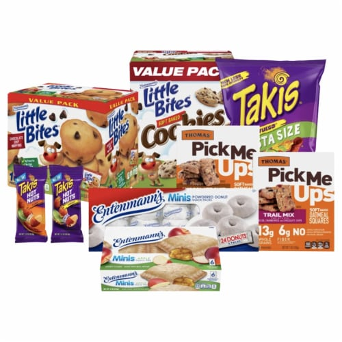 Entenmann's Movie Night Snacks Bundle - Family Pack Perspective: front