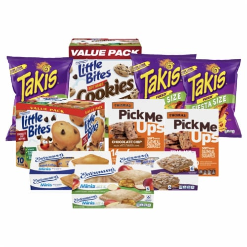 Entenmann's Sweet and Spicy Snacks Bundle - Family Pack Perspective: front