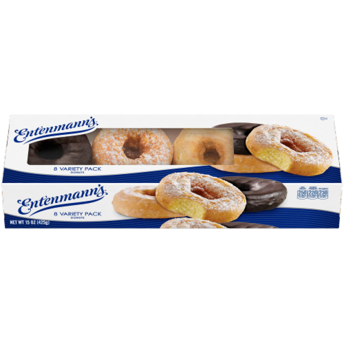 Entenmann's® Donut Variety Pack Perspective: front