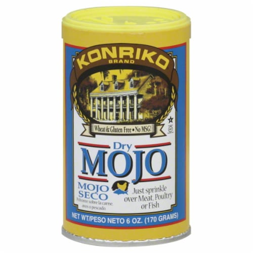 Konriko Dry Mojo Seco Seasoning Perspective: front