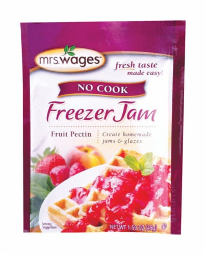 Mrs. Wages No Cook Freezer Jam Fruit Pectin Mix Perspective: front