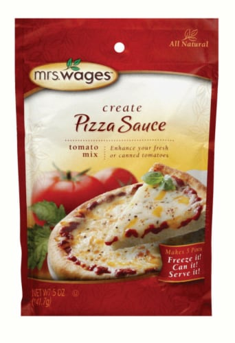 Mrs. Wages Create Pizza Sauce Perspective: front