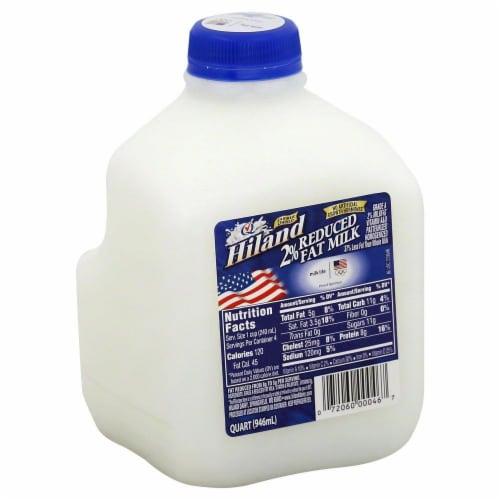 Hiland Dairy 2% Milk Perspective: front