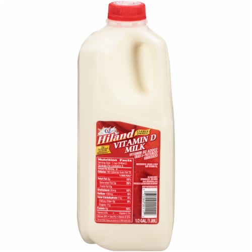 Hiland Dairy Whole Milk Perspective: front