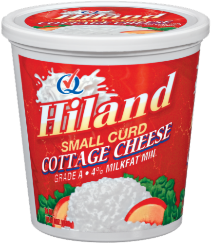 Hiland Small Curd Cottage Cheese Perspective: front