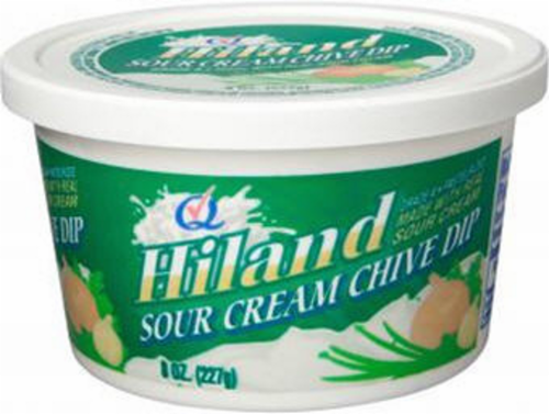 Hiland Chive Dip Perspective: front