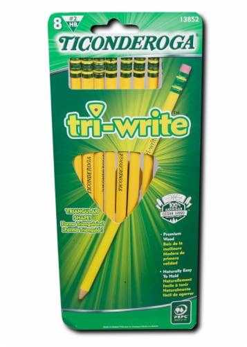Ticonderoga Tri-Write Pencils Perspective: front