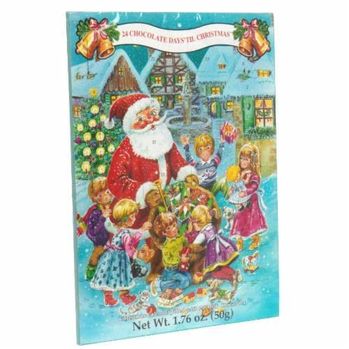 Albert's Chocolate Advent Calendar - Assorted Perspective: front