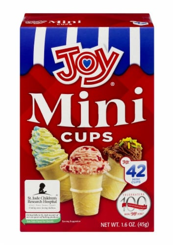 Joy Mini Cups 42 Count Perspective: front