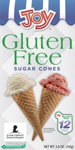 Joy Gluten Free Sugar Cones Perspective: front