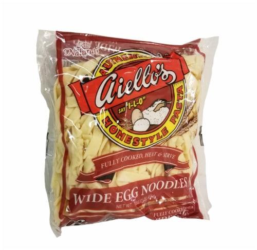 Aiello's Wide Egg Noodles Perspective: front