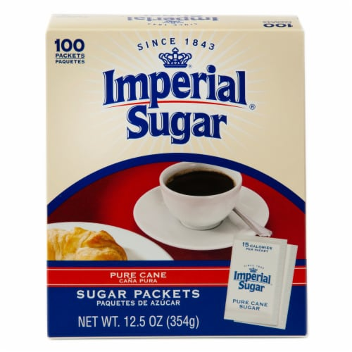 Imperial Sugar Packets Perspective: front
