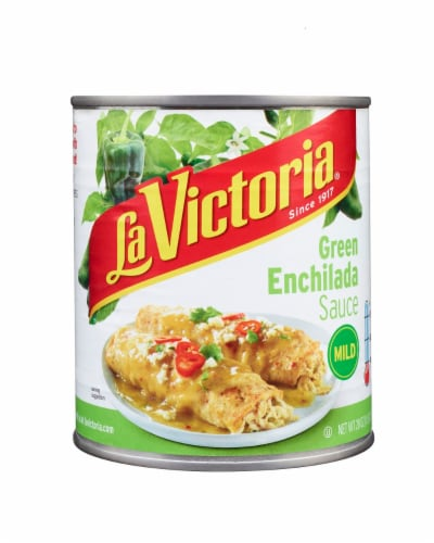 La Victoria Mild Green Enchilada Sauce Perspective: front