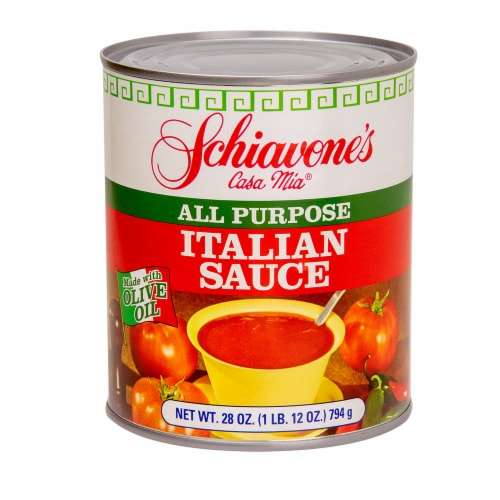 Schiavone's All Purpose Italian Sauce Perspective: front