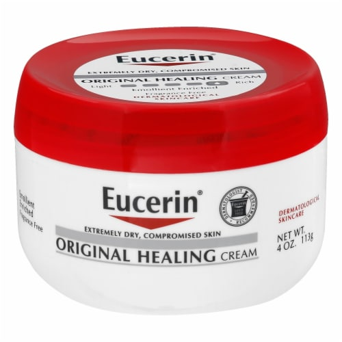Eucerin Original Moisturizing Creme Moisturizer Cream 4 oz Perspective: front