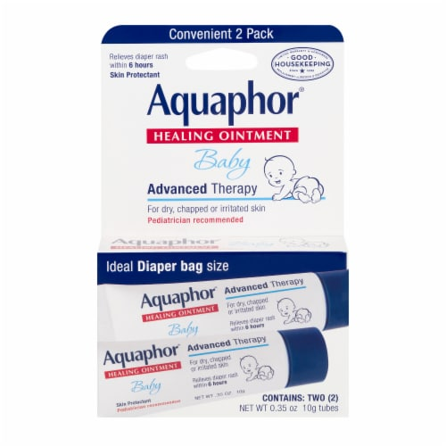 Aquaphor Healing Ointment Baby Advanced Therapy Perspective: front