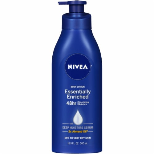 Nivea Essentially Enriched Deep Mooisture Body Lotion Perspective: front
