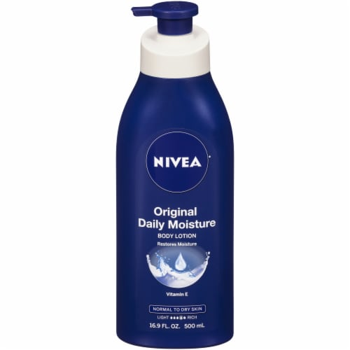 Nivea Original Daily Moisture Body Lotion Perspective: front