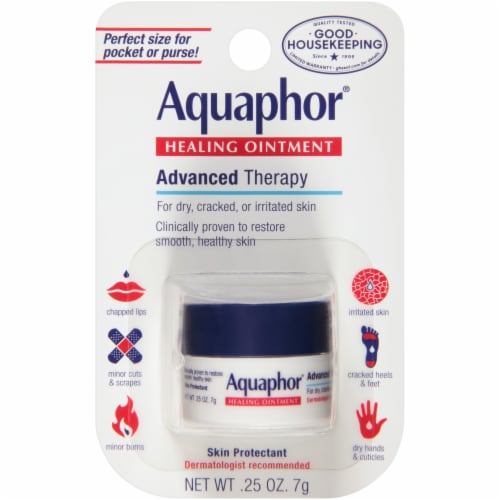 Aquaphor Advanced Therapy Healing Ointment Perspective: front