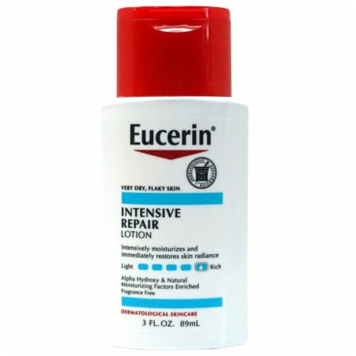 Eucerin Intensive Repair Lotion Perspective: front