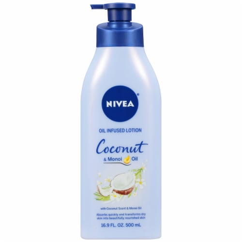 Nivea Coconut & Monoi Oil Infused Lotion Perspective: front