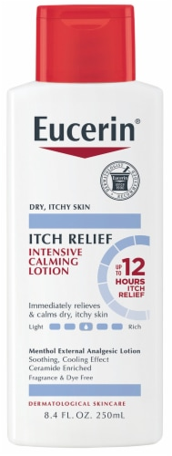 Eucerin Calming Itch Relief Lotion Perspective: front