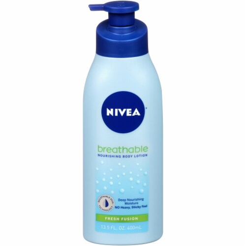 Nivea Breathable Fresh Fusion Nourishing Body Lotion Perspective: front