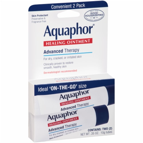 Aquaphor® Advanced Therapy Healing Ointment Perspective: front