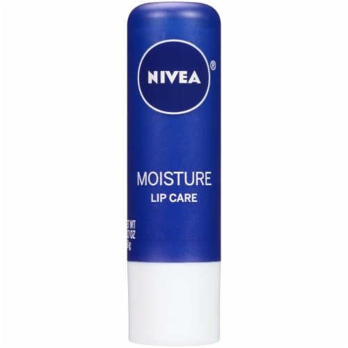 Nivea Moisture Lip Care Lip Balm Perspective: front