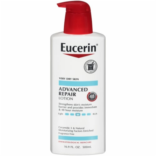 Eucerin Advanced Repair Lotion Perspective: front