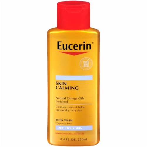 Eucerin Skin Calming Body Wash Perspective: front