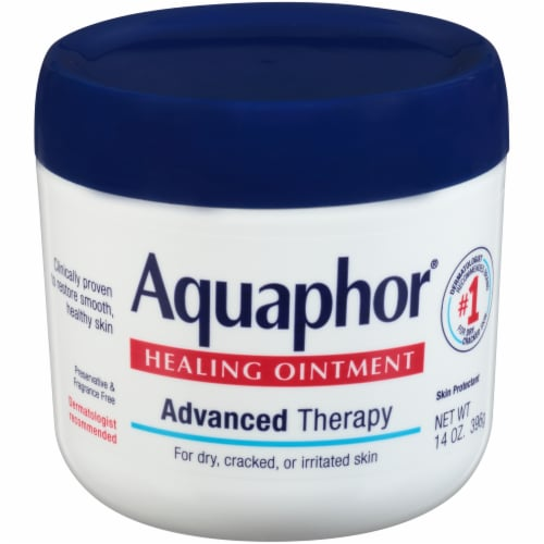 Eucerin Aquaphor Healing Ointment 14 oz Perspective: front