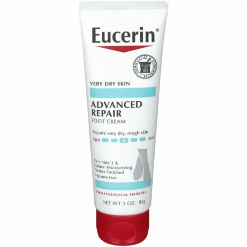 Eucerin Advanced Repair Foot Creme Perspective: front