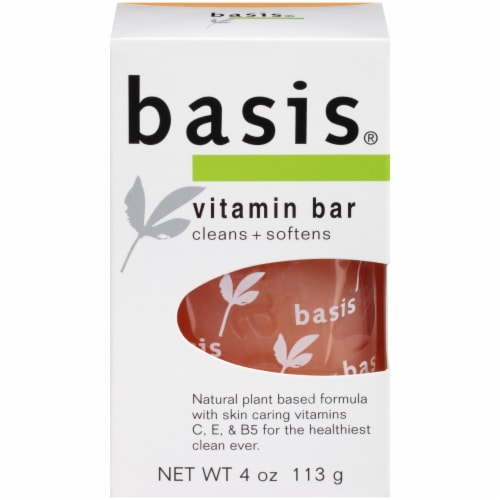 Basis Vitamin Bar Soap Perspective: front