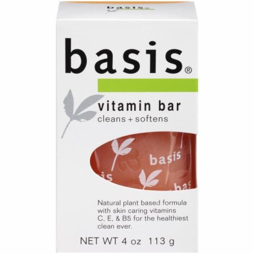 Basis Vitamin Bar Soap Perspective: front